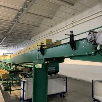 Greefa Pepper Grading Machine 4 Lane, 15 outlet with Koat dumper with 50 picking bins